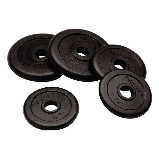 Sport-Thieme Rubber Weight Disc Set, 50 kg