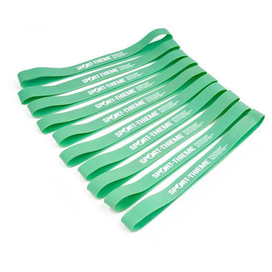 Sport-Thieme Rubberbands 10er Set Grün, leicht