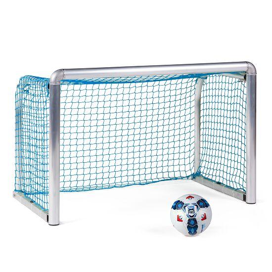 Sport-Thieme® Safety Alu-Mini-Trainingstor 1,20x0,80 m, Tortiefe 0,70 m, Inkl. Netz, blau (MW 4,5 cm)