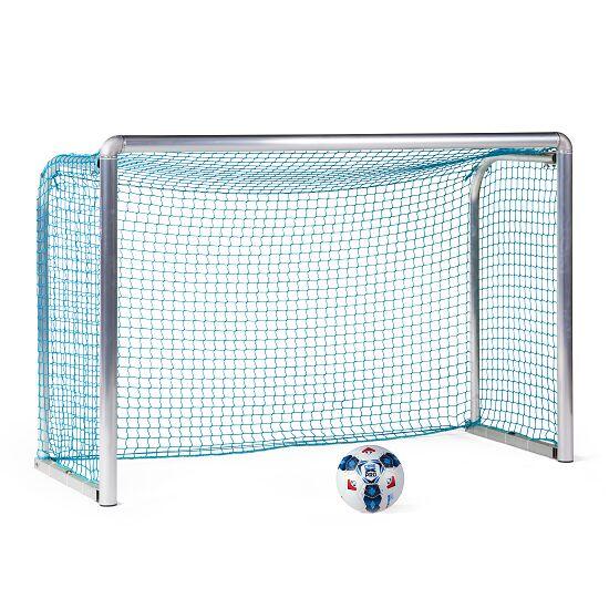 Sport-Thieme® Safety Alu-Mini-Trainingstor 1,80x1,20 m, Tortiefe 0,70 m, Inkl. Netz, blau (MW 4,5 cm)