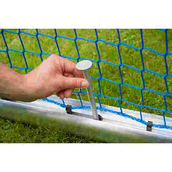 Sport-Thieme Safety Aluminium Mini Training Goal 1.2x0.8 m, goal depth 0.7 m, Incl. net, green (mesh width 10 cm)