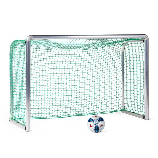 Sport-Thieme Safety Aluminium Mini Training Goal 1.80x1.20 m, goal depth 0.70 m, Incl. net, green (mesh width 4.5 cm)