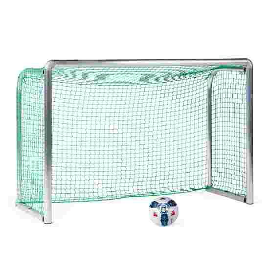 Sport-Thieme Safety Aluminium Mini Training Goal 1.80x1.20 m, goal depth 0.70 m, Incl. net, green (mesh width 4.5 cm)