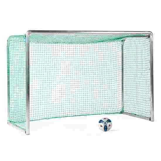 Sport-Thieme Safety Aluminium Mini Training Goal 2.40x1.60 m, goal depth 1.00 m, Incl. net, green (mesh width 4.5 cm)