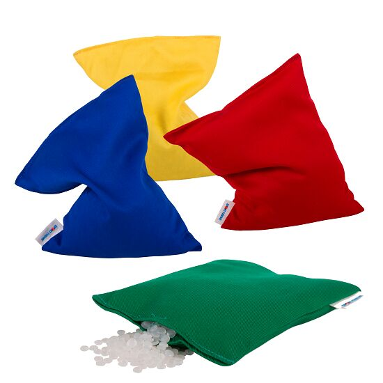 Sport-Thieme® Set of 4 Small Beanbags Plastic granule filling, washable, 120 g, approx. 15x10 cm