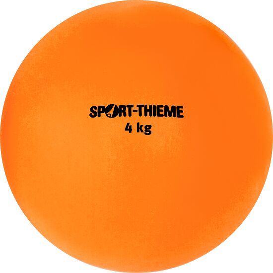 Sport-Thieme Shot Put Plastic 4 kg, orange, ø 134 mm