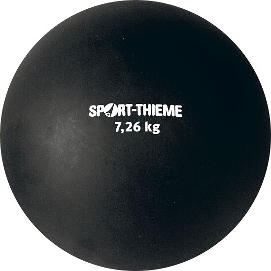 Sport-Thieme Shot Put Plastic 7.26 kg, black, ø 150 mm