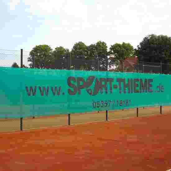 Sport-Thieme Sicht- und Windschutzblende 18x2 m, Dunkelgrün