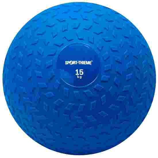 Sport-Thieme Slam Ball 15 kg, Blau