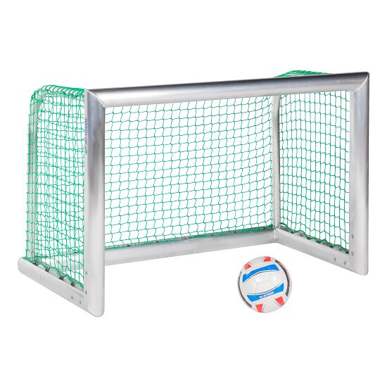 """Sport-Thieme® Sport-Thieme® Mini-Trainingstor """"Professional Kompakt"""", Alu-Naturblank 1,20x0,80 m, Inkl. Netz, grün (MW 4,5 cm)"""