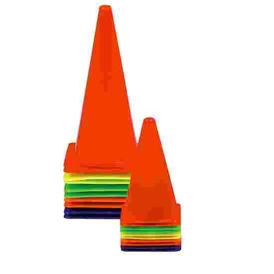 Sport-Thieme Sport-Thieme Set 10 of Marking Cones 20.5x20.5x37 cm