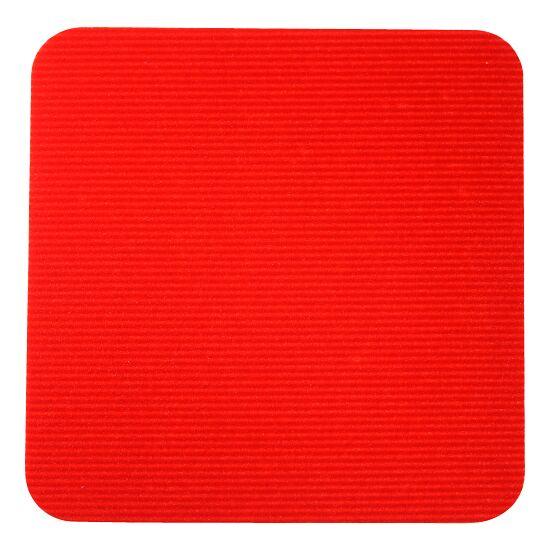 Sport-Thieme® Sportsfliser Rød, Kvadrat, 30x30 cm.