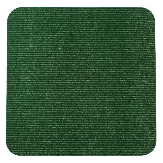 Sport-Thieme® Sportsfliser Grøn, Kvadrat, 30x30 cm.