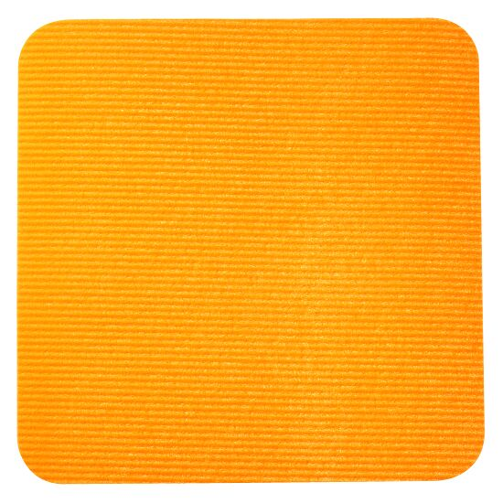 Sport-Thieme® Sportsfliser Orange, Kvadrat, 30x30 cm.