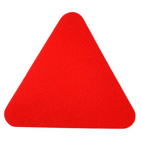 Sport-Thieme® Sportsfliser Rød, Trekant, kantlængde: 30 cm.