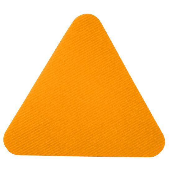 Sport-Thieme® Sportsfliser Orange, Trekant, kantlængde: 30 cm.