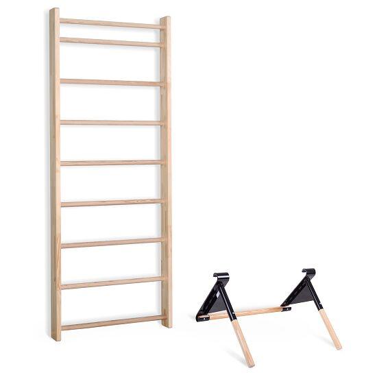 Sport-Thieme® Sprossenwand mit Klimmzug-Dip-Stange Sprossenwand 230x80 cm