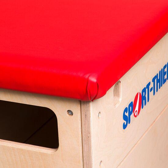"""Sport-Thieme® Sprungkasten """"Multiplex"""" 6-teilig Mit Schwenkrolleneinrichtung, Kernrindlederbezug"""