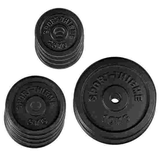 Sport-Thieme støbejerns vægtskivesæt, 50 kg