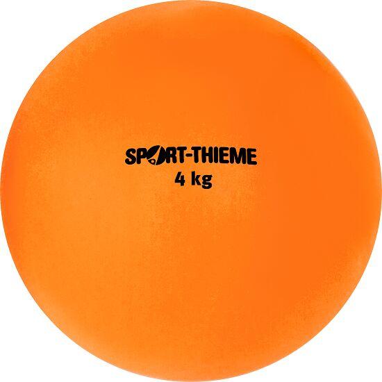 Sport-Thieme® Stødkugle af Kunststof 4 kg, orange, ø 134 mm
