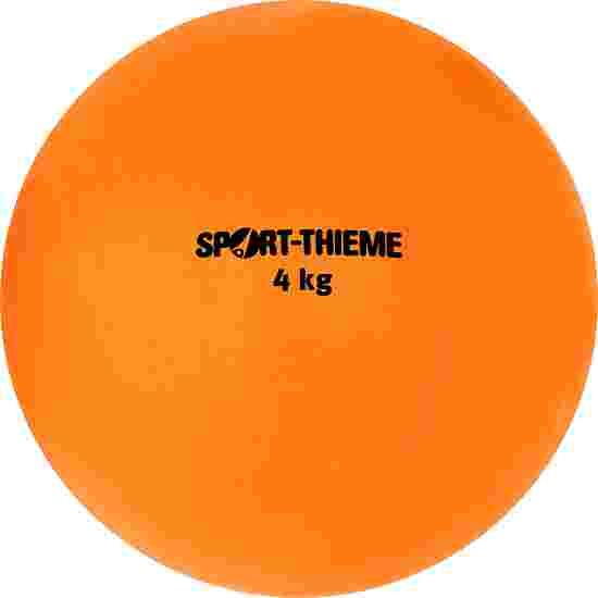 Sport-Thieme Stødkugle  Af Kunststof 4 kg, orange, ø 134 mm