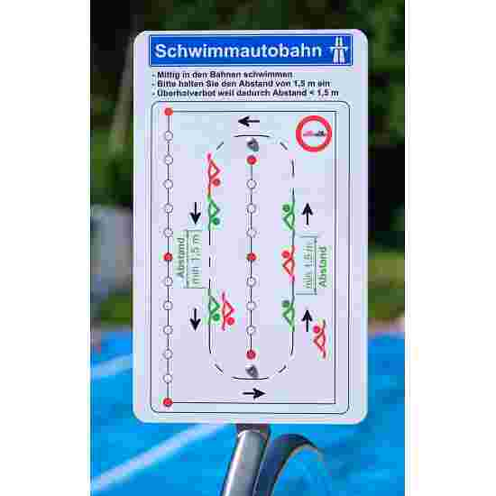 "Sport-Thieme Stainless Steel ""Divider"" Traffic Management System Indoor, 25 m, float on float"