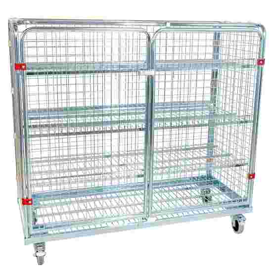 """Sport-Thieme """"Standard"""" Shelved Trolley Without additional railing, 150×140×62 cm"""