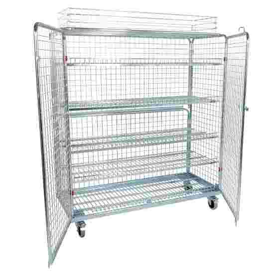 "Sport-Thieme ""Standard"" Shelved Trolley Incl. additional railing, 150×170×62 cm"