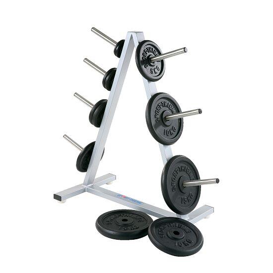 Sport-Thieme® Stativ til skivevægte 30 mm, 7 tapper