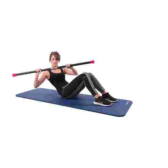 Sport-Thieme Steel Weighted Bar 3 kg, Rot