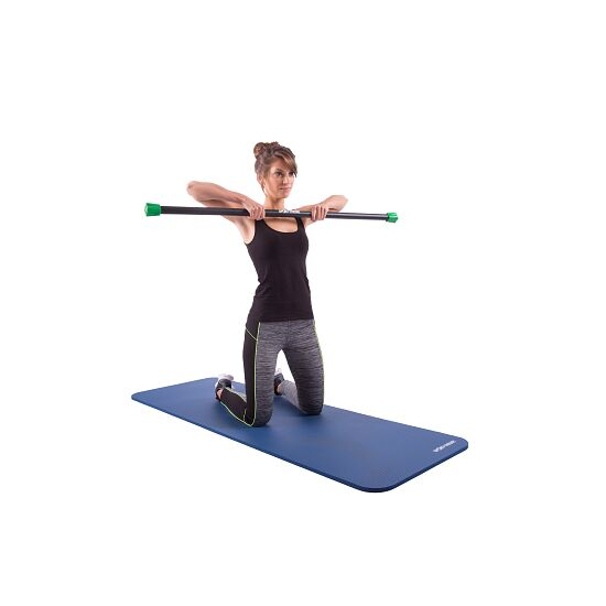 Sport-Thieme® Steel Weighted Bar 4 kg, Grün