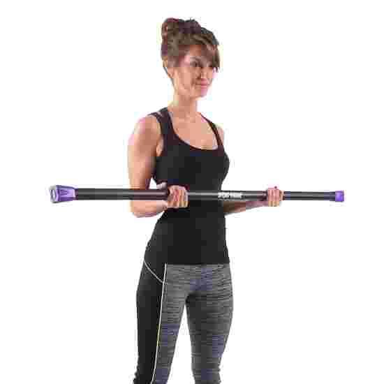 Sport-Thieme Steel Weighted Bar 6 kg, Lila