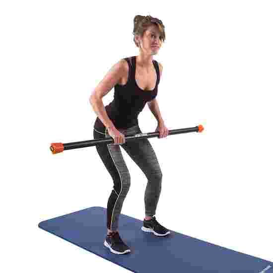Sport-Thieme Steel Weighted Bar 8 kg, Orange