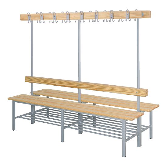 """Sport-Thieme """"Style C"""" Changing Room Bench With shoe shelf"""