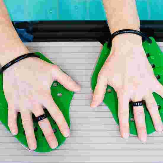 Sport-Thieme Swim-Power Paddles Größe S, 19x16 cm, Grün