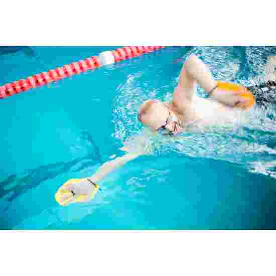 Sport-Thieme Swim-Power Paddles Größe M, 21x18 cm, Gelb
