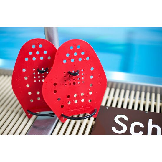 Sport-Thieme® Swim-Power® Paddles Größe L, 23x19 cm, Rot