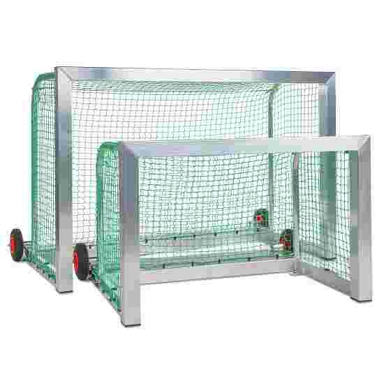Sport-Thieme Tilt-Proof Mini Training Goal 1.20×0.80 m, goal depth 1.05 m, Incl. net, green (mesh width 10 cm)