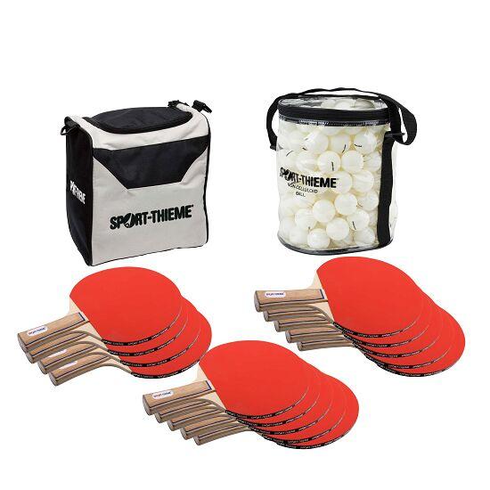 """Sport-Thieme® Tischtennis-Schulsport-Set """"Paris"""" Bälle Weiß"""