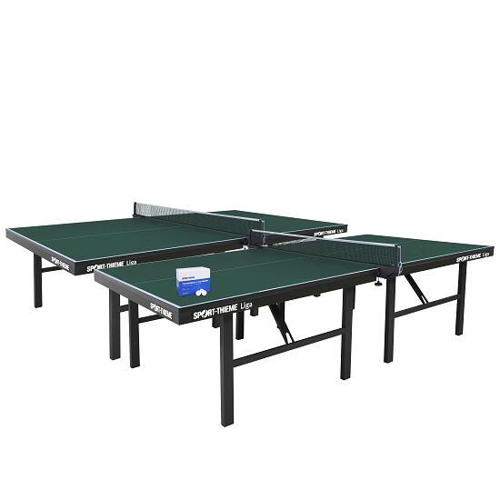 """Sport-Thieme Tischtennis-Set """"Liga"""" Grün"""