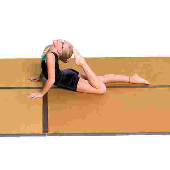 Sport-Thieme Træningsmåtte 200x100x3,5 cm, Ravgul
