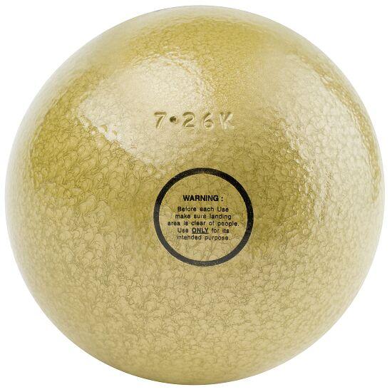 Sport-Thieme® Trainings-Stoßkugel 7,26 kg, Gelb, ø 126 mm