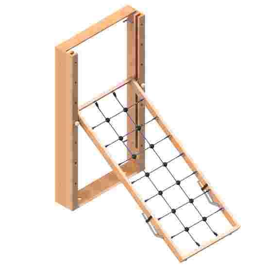 Sport-Thieme TuWa Folding Gymnastics Wall Climbing net, Without fall protection mats