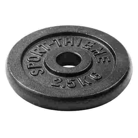 Sport-Thieme Vægtskiver af støbejern 2,5 kg