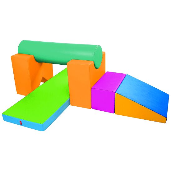 "Sport-Thieme ""V-Shaped Cut-Out Beam Support"" Building Block"
