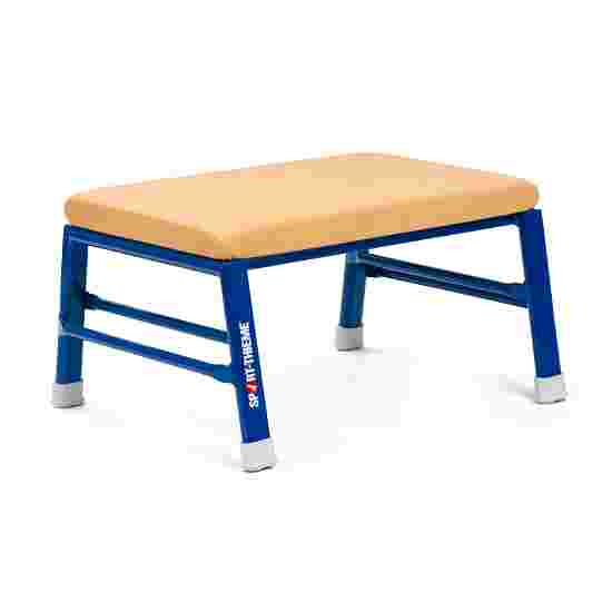 Sport-Thieme Vaulting and Gymnastics Stool Leather cover, natural