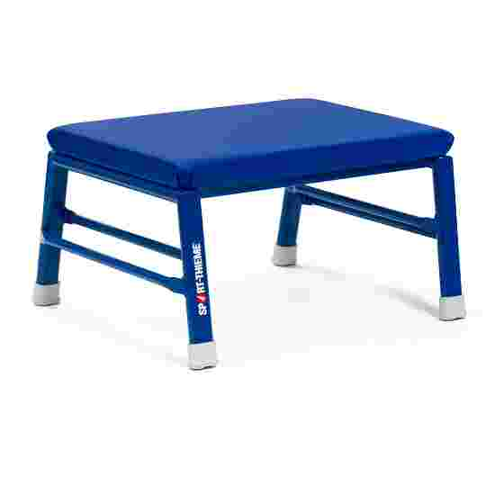 Sport-Thieme Vaulting and Gymnastics Stool Synthetic leather cover, blue