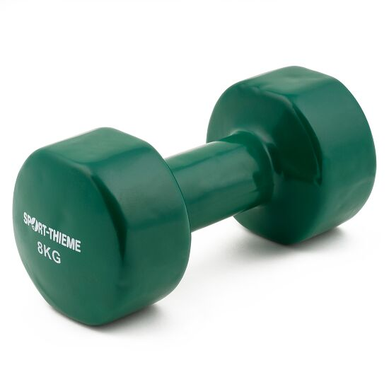 Sport-Thieme Vinyl Dumbbell 8 kg, green