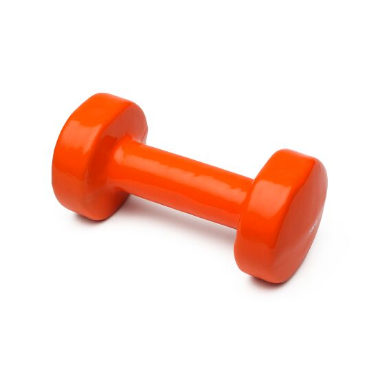 Sport-Thieme Vinyl Fausthantel 5 kg, Orange