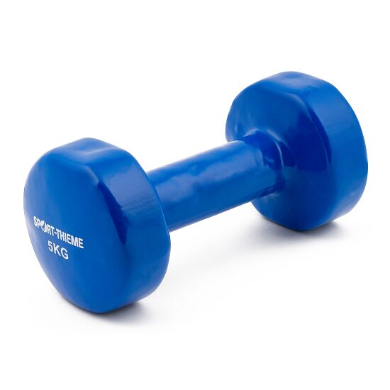 Sport-Thieme® Vinyl Fausthantel 5 kg, Blau